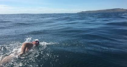 Simon Olliver recently completed the Foveaux Strait, ticking off the last leg of the New Zealand Triple Crown - Lake ...