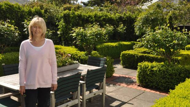 Lynette McLauchlan opened up her garden as part of a fundraiser event to oppose a retirement village in Boulcott.