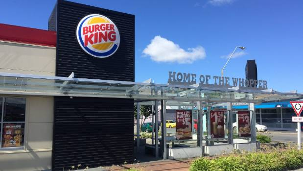 Burger King Masterton is one of the Masterton Trust Lands Trust buildings up for sale.