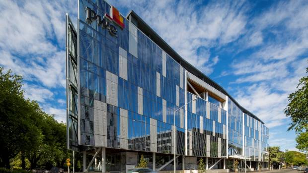 New pwc centre in christchurch hits market for Landscape design company christchurch