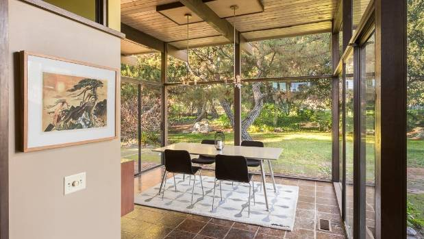 Architect\'s own Mid-century Modern house up for grabs   Stuff.co.nz