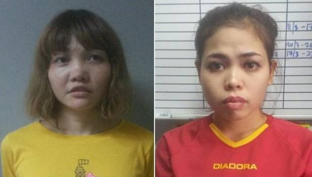 The prime suspects in murder of Kim Jong Nam: Doan Thi Huong of Vietnam (left) and Siti Aishah of Indonesia.
