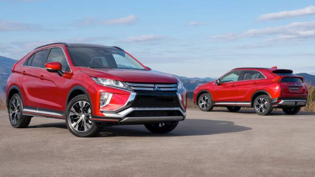 New Mitsubishi Eclipse Cross SUV revealed