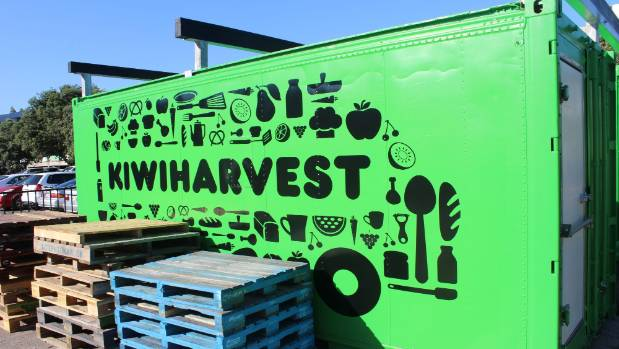 Kiwi Harvest's new fridge will enable meat and produce to be stored for longer than before.