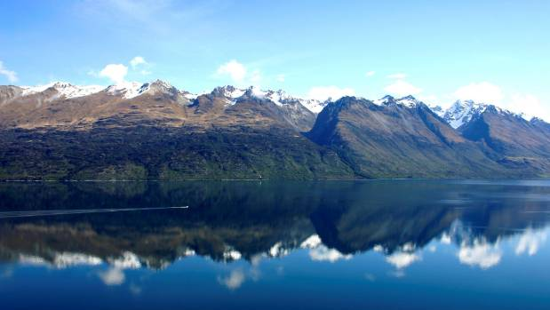A shot of Lake Wakatipu.