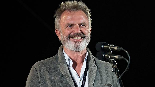 He's got plenty to smile about - Sam Neill turns 70 today!