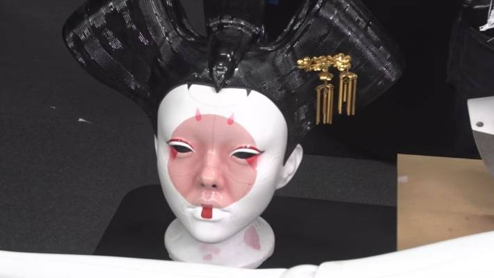 Ex Mythbuster Adam Savage Meets Ghost In The Shell S Weta Built Geisha Robots Stuff Co Nz
