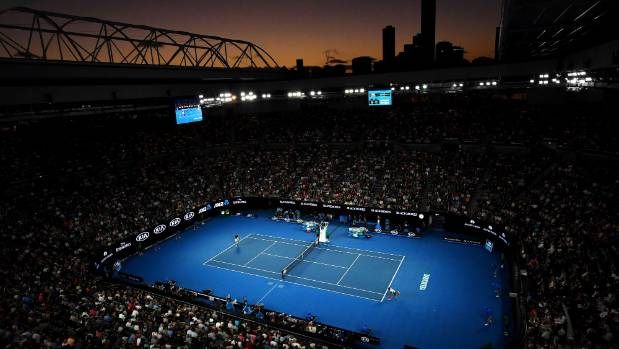 A night session at Rod Laver Arena with the Melbourne skyline in the background is something any sports fan should ...
