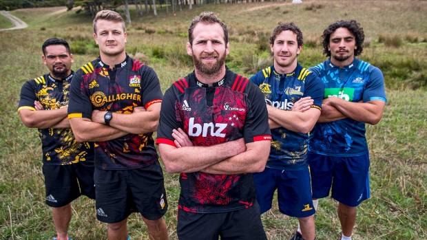 The coordinates on the sleeves of the five New Zealand Super Rugby special edition Lions jerseys are wrong, with the ...