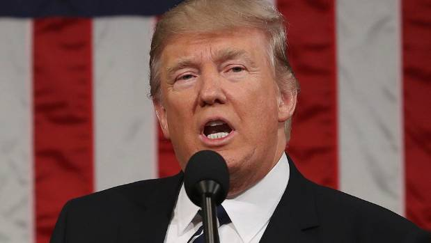 Donald Trump says Americans cannot succeed in an environment of lawless chaos.
