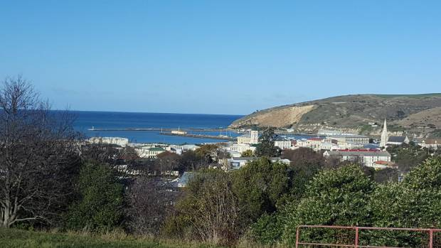 The sweeping view from the site of the old Oamaru Hospital, being redeveloped by its Auckland owners.