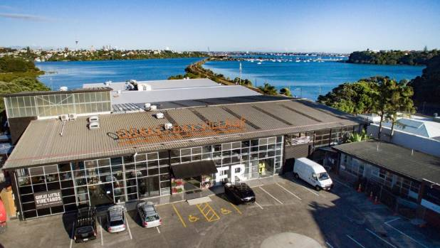 The Orakei Village market has sweeping views over Hobson Bay.