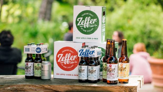 Zeffer cider is exported to nine countries.