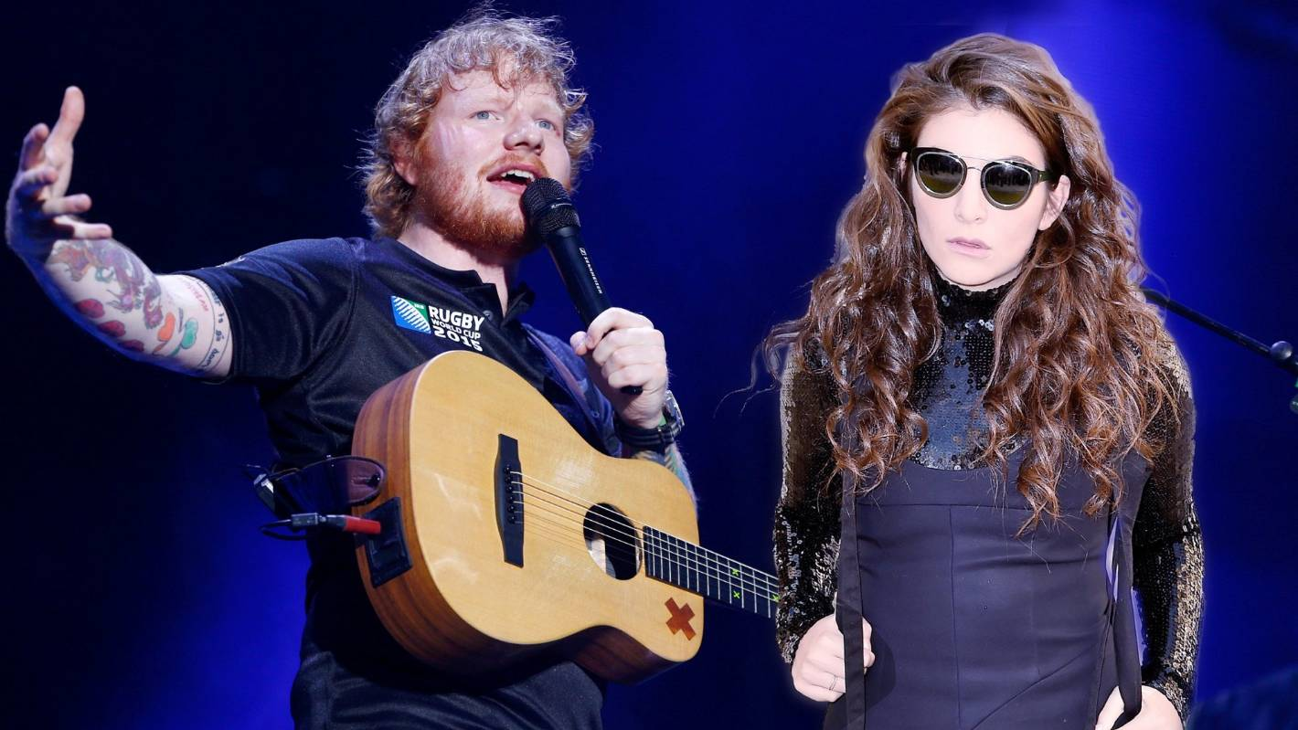 release day ed sheeran and lorde gear up to release long teased tracks this friday. Black Bedroom Furniture Sets. Home Design Ideas