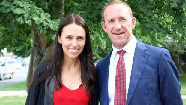 Labour's Andrew Little and Jacinda Ardern would review abortion laws if in power.