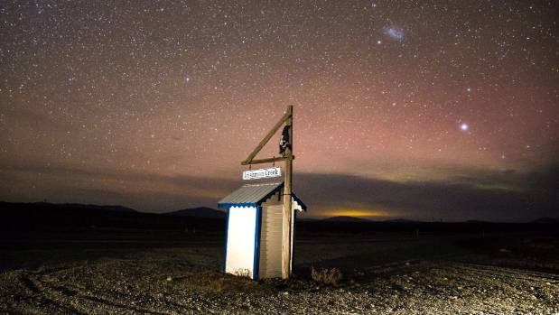 Irishman Creek in the Mackenzie Basin, beneath the famous dark sky.