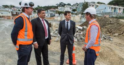 In February Wellington mayor Justin Lester and deputy Paul Eagle announced 750 units of social and affordable homes ...