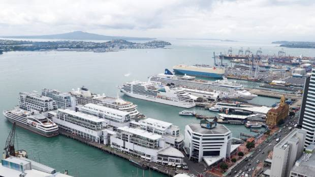Ports of Auckland is the country's busiest port, with a record number of cruise ships this year and the biggest port for ...