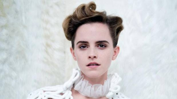 Emma Watson on the cover of Vanity Fair.