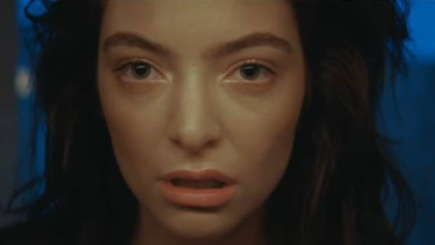 Lorde in the video for Green Light, released earlier this month.