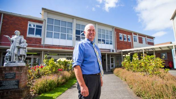 Francis Douglas Memorial College Principal Martin Chamberlian said turning off the school's wi-fi during breaks has been ...