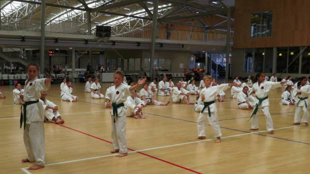 The three day Oceania training camp attracted dozens of karate students from New Zealand and Australia including a large ...