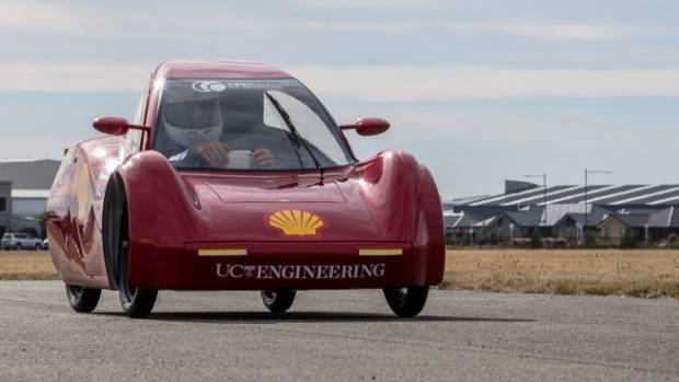 Canterbury University's eco-car has been praised for its build quality in winning a Design Award at the eco-marathon in ...