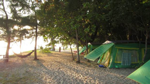 The islandu0027s Thai hosts call it  sea c&ing  and I can see why. : all island tents - memphite.com