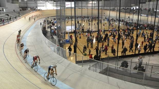 The Milton multi-use velodrome in Ontario, Canada. This is similar to the Napier proposal.