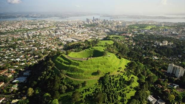 Auckland is built on a dense volcanic field, with more than 50 vents dotted around the city.