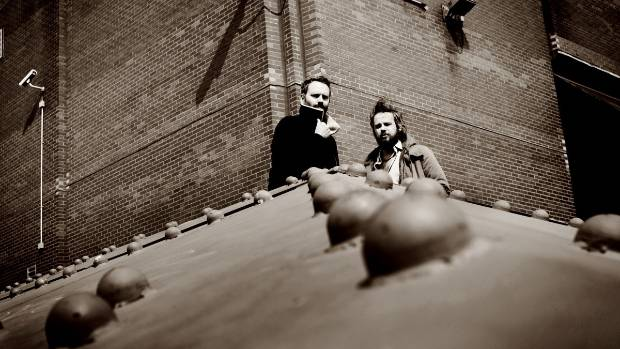 A Winged Victory For The Sullen are  of Dustin O'Halloran and Adam Wiltzie.