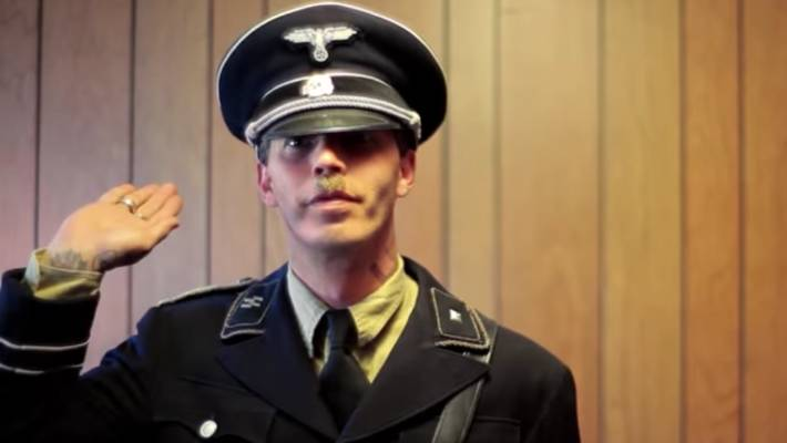Self-proclaimed Nazi changes name to Isidore Heath Hitler