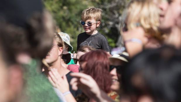 All ages were smiling at Nostalgia Festival at Ferrymead Heritage Park on Saturday afternoon.