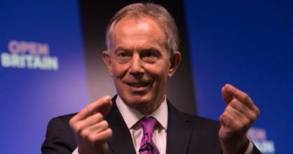 Tony Blair converted to Catholicism after his term as Britain's prime minister.