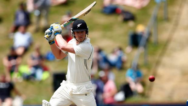 Allrounder Jimmy Neesham was caught behind when replays appeared to show Morne Morkel overstepping the front line.