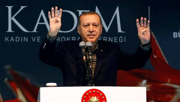 Turkish President Tayyip Erdogan thanked God for journalist Deniz Yucel's arrest. (FILE PHOTO)