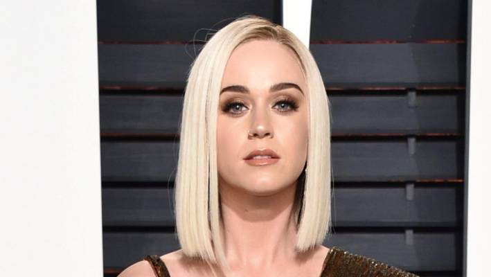 Get the look: Katy Perry's edgy makeup and platinum hair
