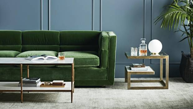 Green Velvet Moody And Regal Interior Inspiration Stuff