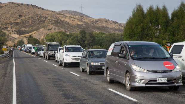 Motorists travelling through the Lewis Pass were delayed after a truck crash on Wednesday morning. (File photo)