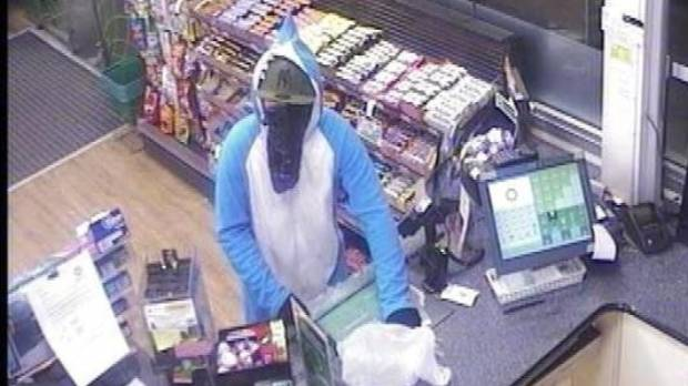 A teenager who allegedly robbed a Rolleston service station of some lollies while wearing a shark onesie has appeared in ...