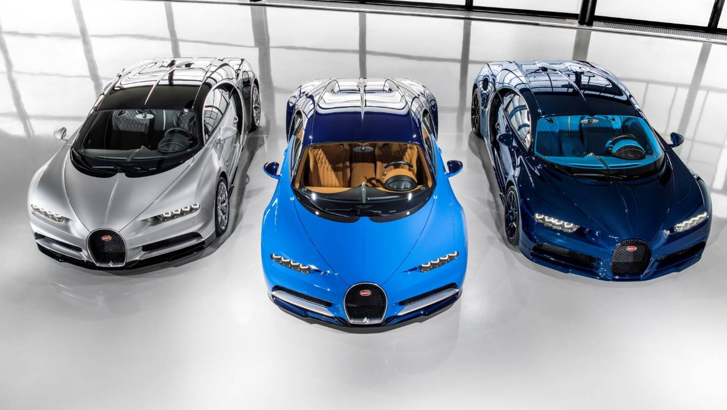 Bugatti delivers its first Chiron hypercars | Stuff.co.nz