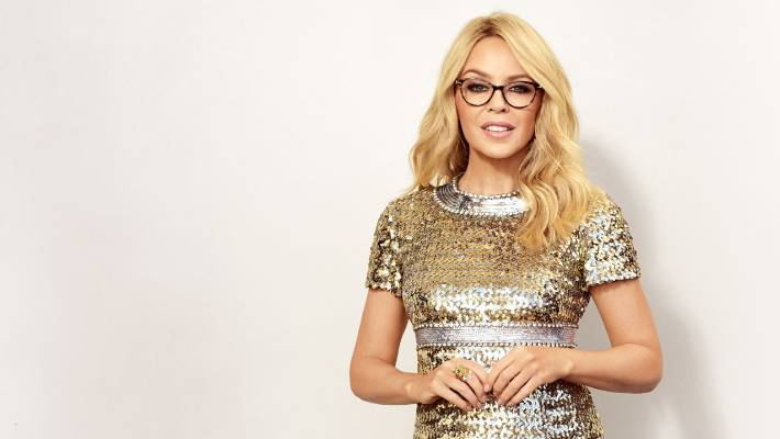7da3ebf718 Pop icon Kylie Minogue launches her first eyewear collection and ...