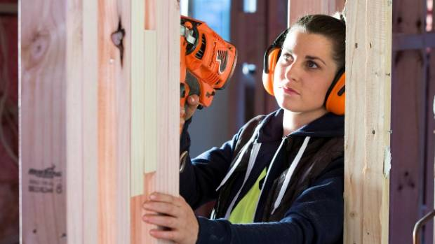 Anna Clearwater got a degree in international politiics, and is now apprentice carpenter.