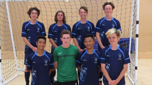 Nelson College won the Tasman secondary schools futsal championships.