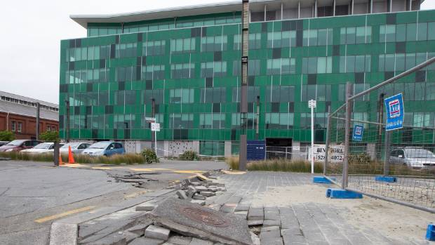 It's hoped the modelling will help predict the impact of earthquakes on buildings, such as those in Wellington damaged ...