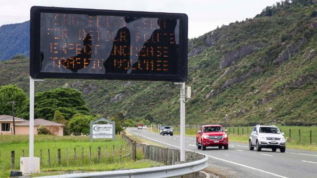 Temporary speed reductions on the alternative highway will remain in place until SH1 is repaired. (file photo)