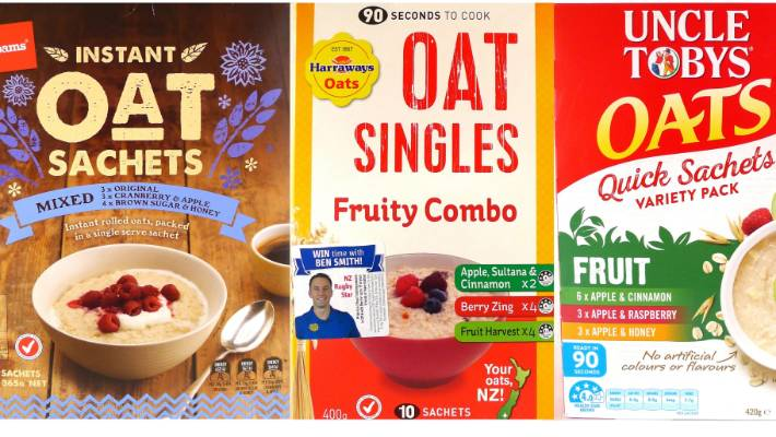 b7cc91f731a0 Are sachet oats really good for you  We put three leading brands to ...
