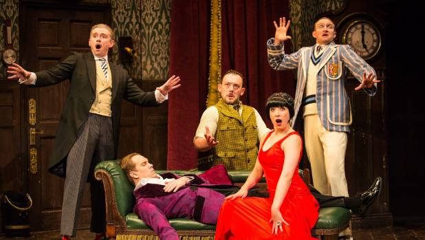 The Play That Goes Wrong takes on the murder-mystery genre 'because it takes itself so seriously'.