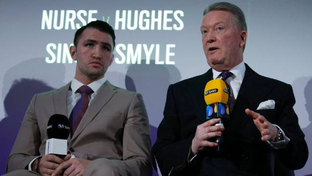 Hughie Fury pulls out of world heavyweight title fight against Joseph Parker