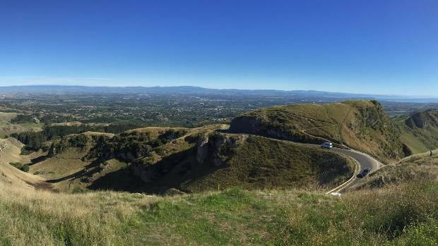 The view from the top of Te Mata Peak is hard to beat, especially on a clear day.
